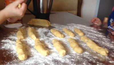 Opa die Plätzchen haben wir für dich gebacken