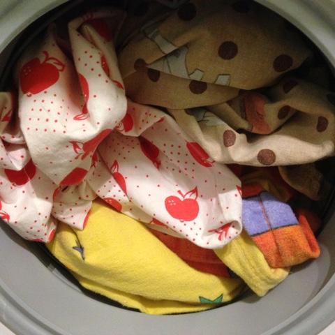 Wochenende in Bildern #WiB 02 2016 – Wäsche und Sinnflut