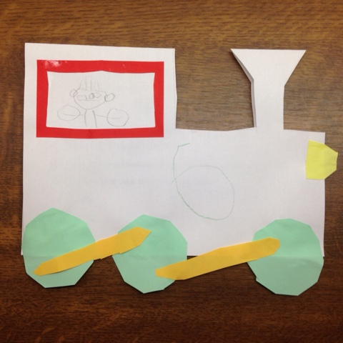 Eisenbahn-Einladungskarten für den Kindergeburtstag