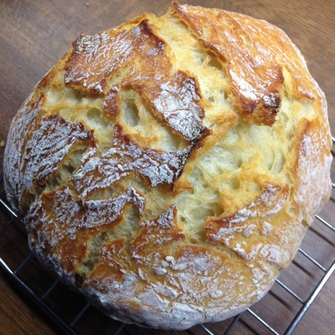 Selbstgebackenes Brot für Faule