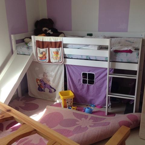 Geschwisterbett selbstgebaut