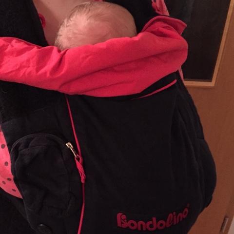 Neues Lieblingsteil – Bondolino Babytrage