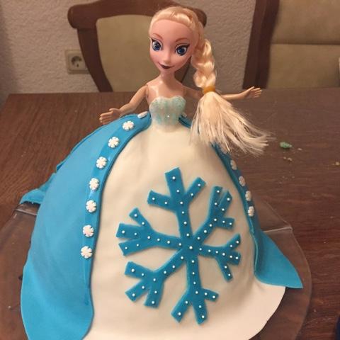 Elsa-Torte zum 5. Geburtstag der Kaisermotte