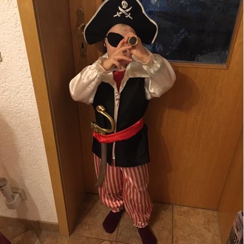 Der geborene Pirat