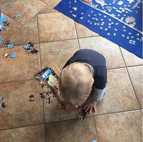 Wochenende in Bildern #WiB 07 2017 – Puzzeln und Essen