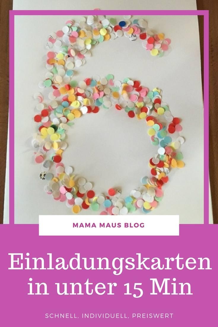 einladungen zum kindergeburtstag basteln mama maus blog. Black Bedroom Furniture Sets. Home Design Ideas