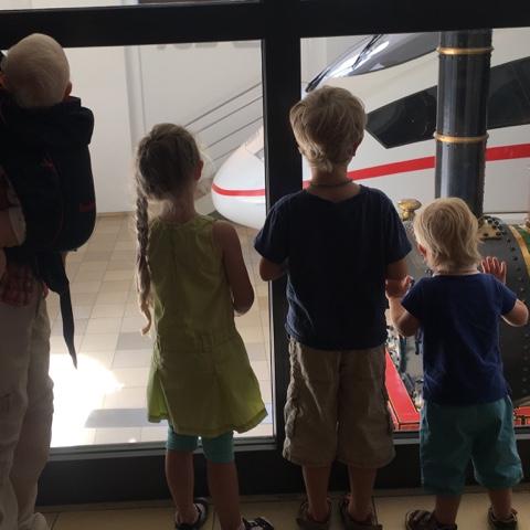 Tagebuchbloggen – WMDEDGT 08 2017 – Kleine Kinder und große Züge