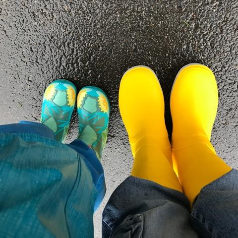 Ein Ausflug im Regen