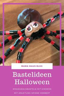 #MamaMausBasteln mit Kindern Halloween