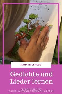 Warum sollten Kinder Gedichte und Lieder lernen und wie können Eltern ihre Kinder beim Auswendiglernen unterstützen? #kinder #lernen #gedichte #schule