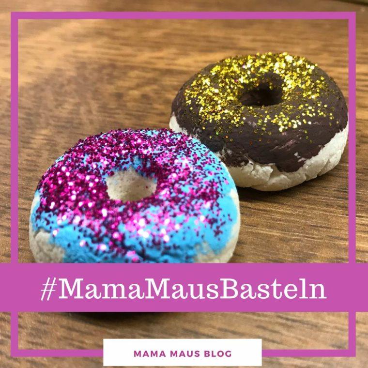 #MamaMausBasteln für Kinder – Kinderküche – Donuts aus Salzteig