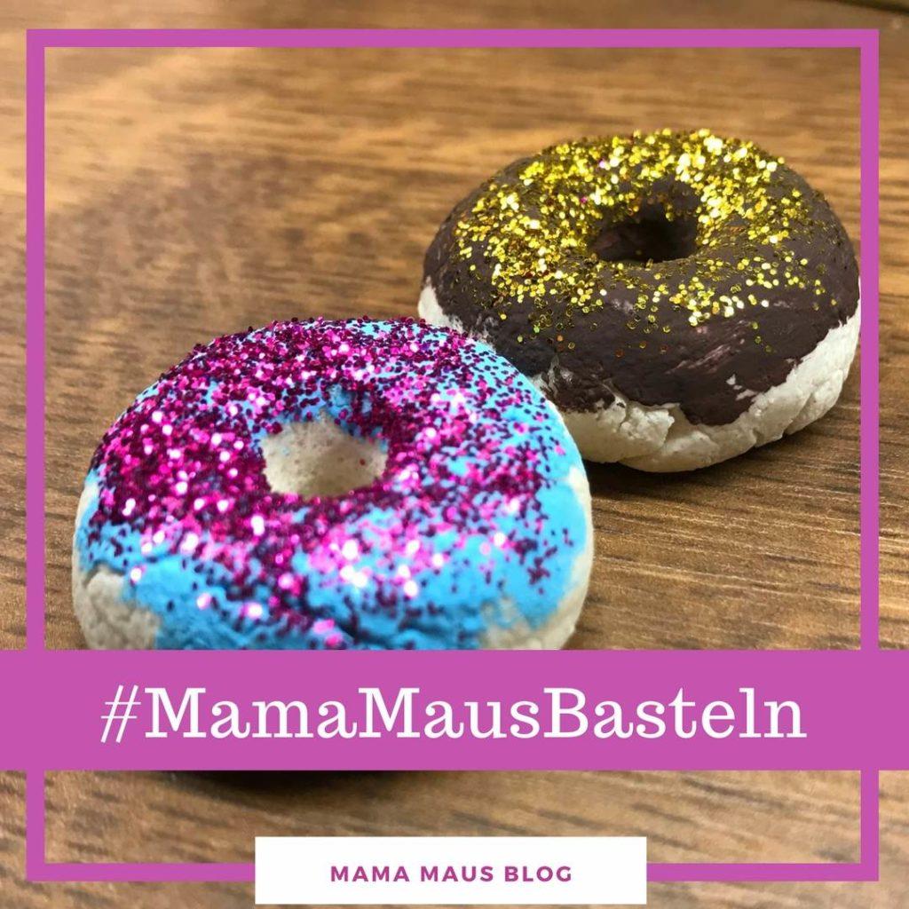 Mamamausbasteln Fur Kinder Kinderkuche Donuts Aus Salzteig