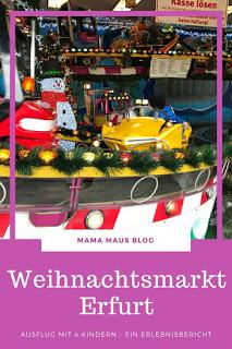 Ausflug auf den Erfurter Weihnachtsmarkt mit 4 Kindern