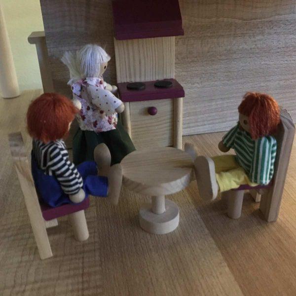 Aufgeräumte Puppenstube