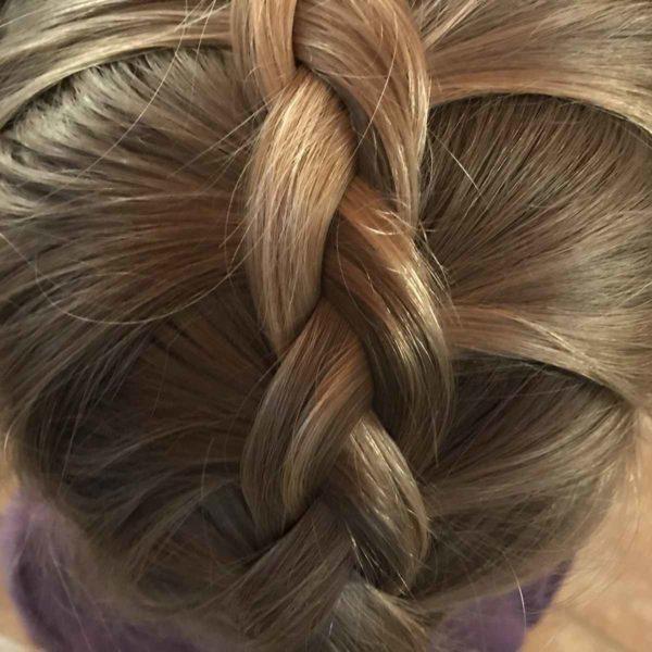 Hübsche Frisur