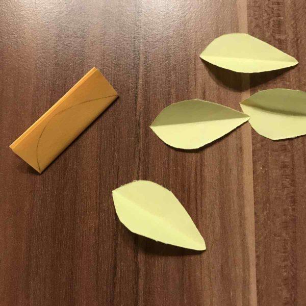 Blätter ausschneiden