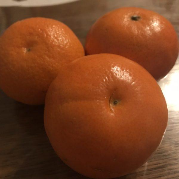Mandarinen zum Nachtisch