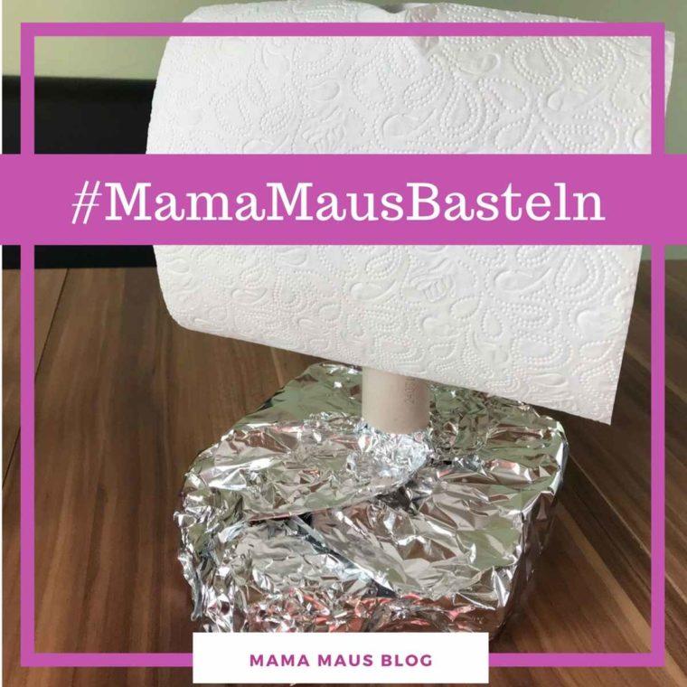 #MamaMausBasteln für Kinder – Toilettenpapierrollen – Floß