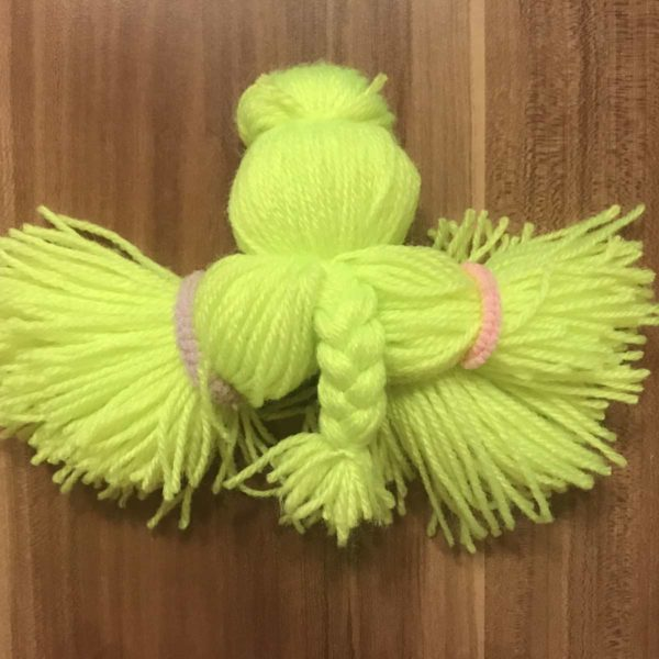 Tentakel aus Wolle flechten