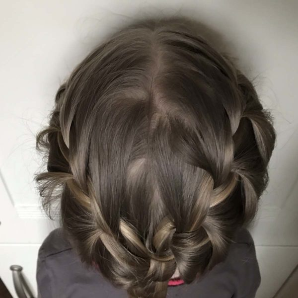 Frisur für Kinder