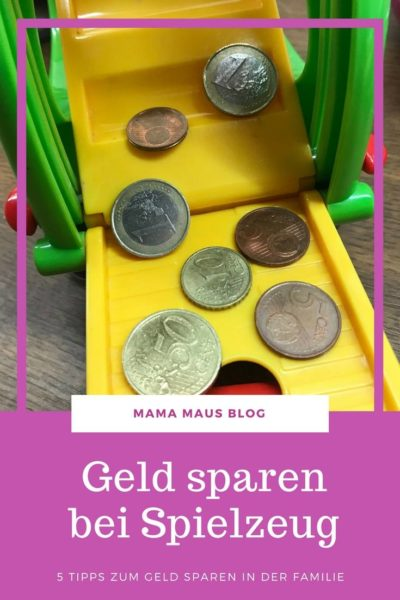 Geld sparen bei Spielzeug - fünf einfache Tipps für Familien #sparen #geld #tipps