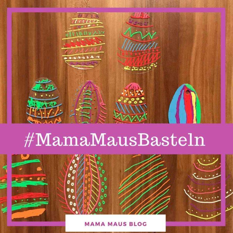 #MamaMausBasteln für Kinder – Mobile mit Ostereier
