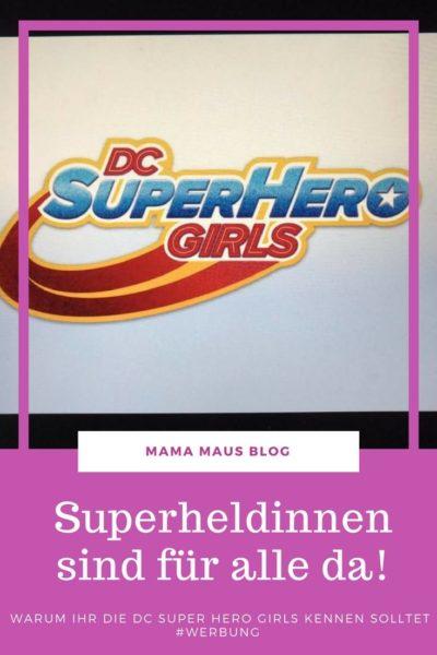#Anzeige – Kennt ihr schon die #DCSuperHeroGirls? Wenn nicht wird es höchste Zeit. Auf dem #Blog lest ihr, warum ihr mit euren Kindern unbedingt in diese #DC-Serie hinein schauen solltet und warum ein Shirt unsere Tochter zur Superheldin machte. #GirlPower #WBWerbung