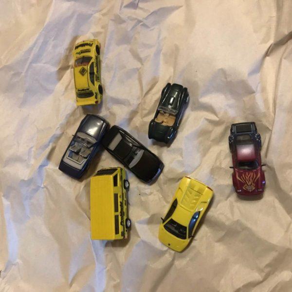 Dachbodenfund - Modellautos