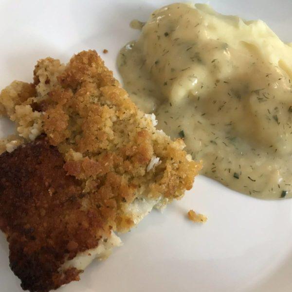 Bordelaise mit Kartoffelbrei