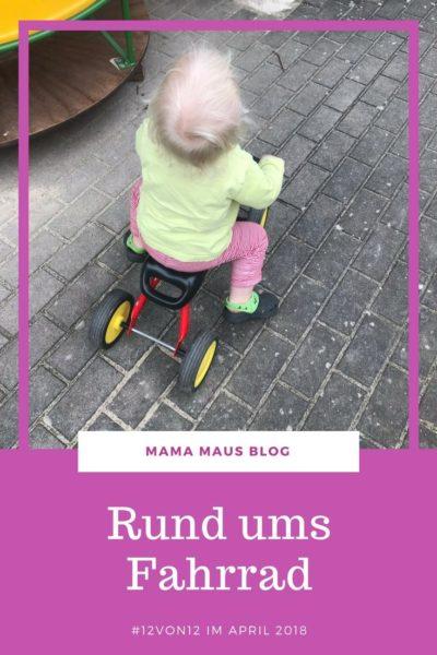 12 von 12 im April 2018 - Rund ums Fahrrad - 12 Bilder vom #Familienleben in der Großfamilie #12von12