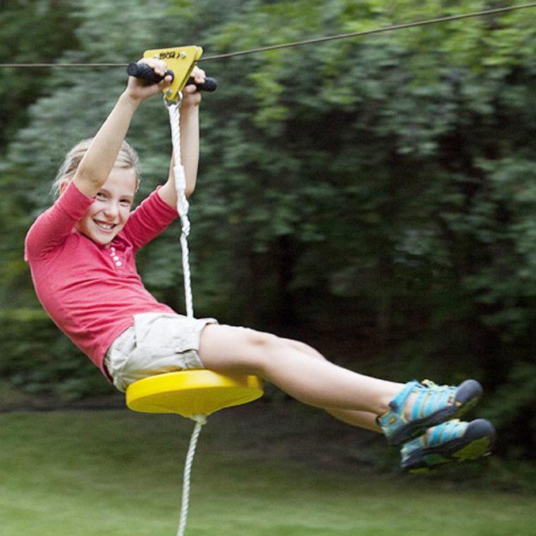 Anzeige – Dank CoolStuff eine eigene Seilrutsche für den Garten