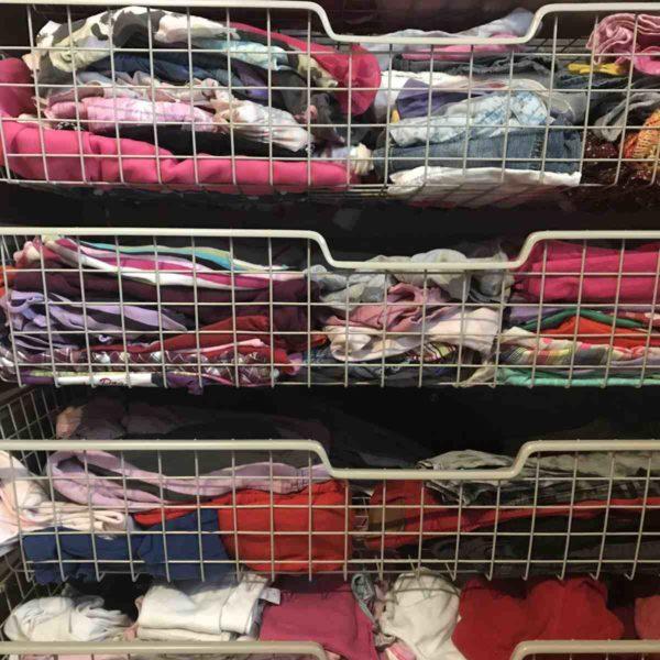 der perfekte Kleiderschrank für Kinder