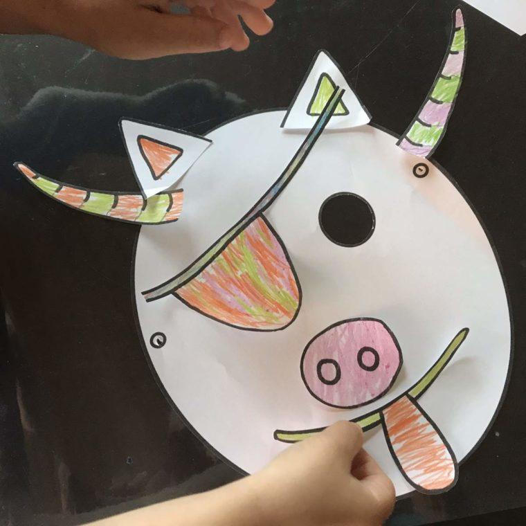 Anzeige inkl. Freebie – Masken zum Kindergeburtstag basteln