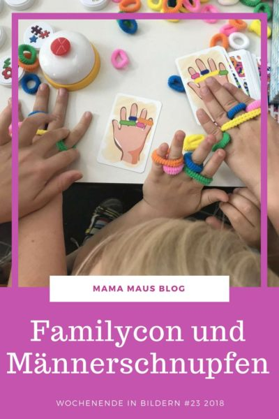 Unser Wochenende in Bilder mit dem Besuch der Familycon in Mannheim und einem fiesen Männerschnupfen. Viele Bilder aus der Großfamilie. #WiB #Großfamilie #Familycon
