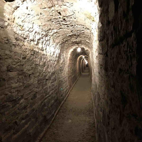 Barbarossahöhle - Zugang für die Braut