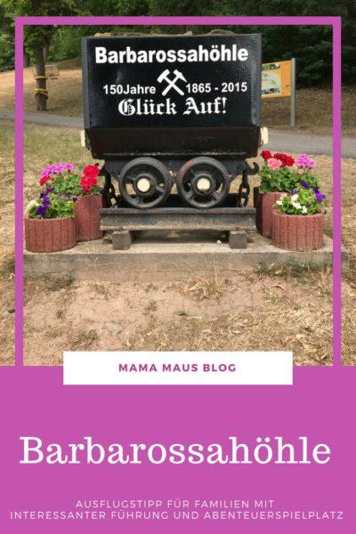 Barbarossahöhle im Kyffhäuser ein Ausflugstipp für Familien mit auch für Kinder interessanten Führung und einem toll gestalteten Abenteuerspielplatz #AusflugmitKindern #Ausflugstipp #Kyffhäuser #Thüringen