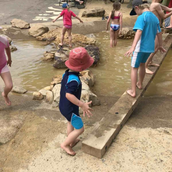 Wasserspielplatz auf der EGA