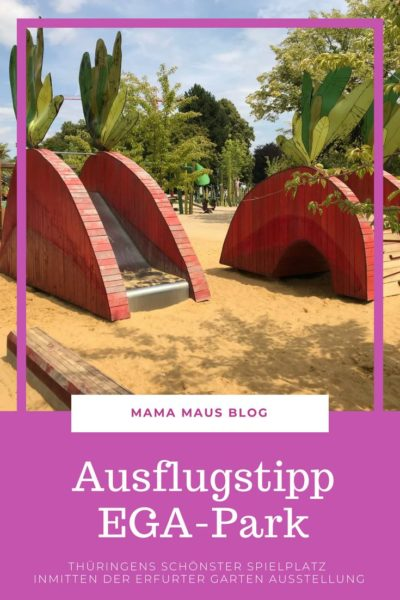 EGA-Park Ausflugstipp für Familien, Thüringens schönster Spielplatz inmitten der Erfurter Garten Ausstellung #Ausflugstipp #AusflügemitKindern #Erfurt #Spielplatz
