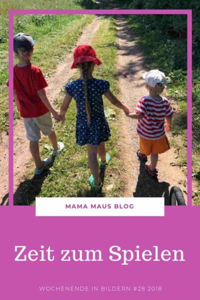 Wochenende in Bildern 28 2018 - Mit viel Zeit zum Spielen, einem vergessenen Picknick und ein bisschen Zeit zum Arbeiten #Großfamilie #Familienleben #Wochenende