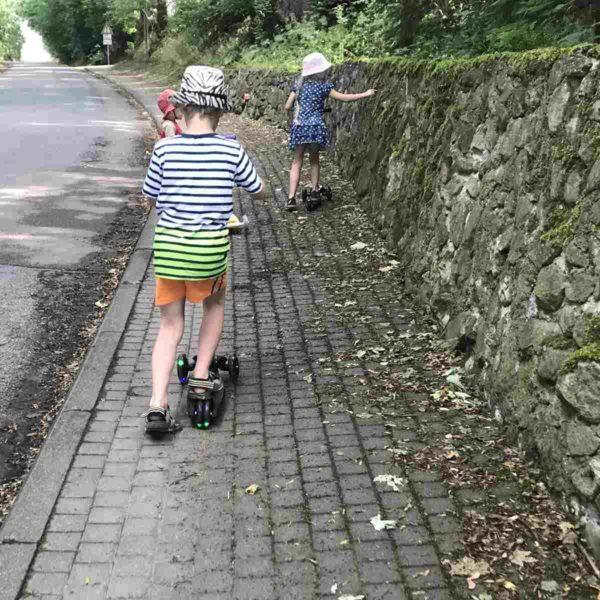 fun pro Kinderroller beleuchtete Reifen