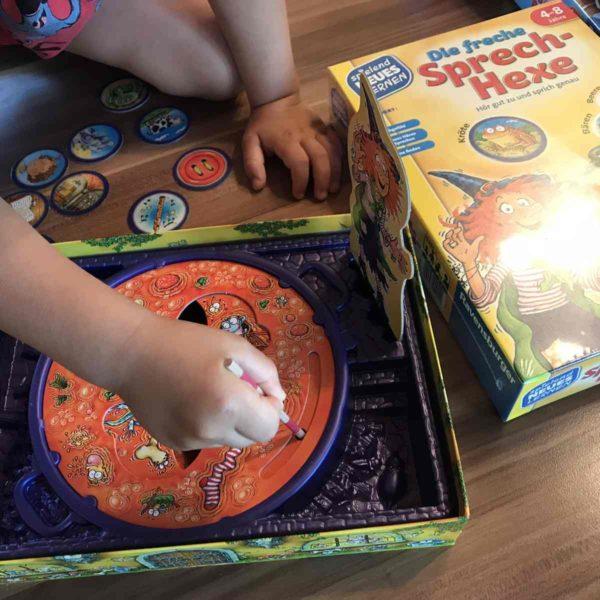 Ravensburger Spielend Neues Lernen - Lernspiel Die freche Sprechhexe