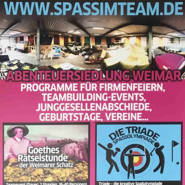 SpassimTeam - Escape Games in Erfurt, Weimar und Jena