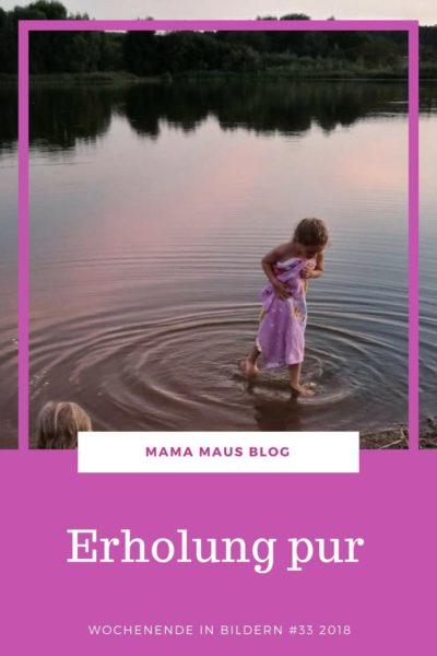 Wochenende in Bildern aus der Großfamilie - mit viel Entspannung, Ausfügen zum Spielplatz und zum Badesee und leider auch ein paar Hausaufgaben #WiB #Großfamilie #Familienleben