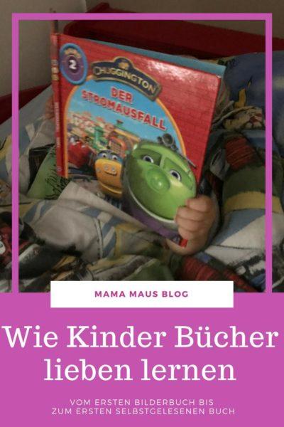 Wie Kinder Bücher lieben lernen? Ab wann kann man Kindern Bücher vorlesen? Vom ersten Bilderbuch bis hin zum ersten komplett selbstgelesenen Buch. #Kinder #Bücher #Bildung #Lesen #Vorlesen #Kinderbücher