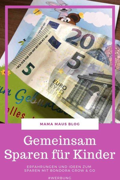 Werbung - Sparen für Kinder, meine Erfahrungen und Idee für das gemeinsame Sparen für Kinder mit Bondora Grow & Go #Werbung #Bondora #GrowandGo #Sparen #SparenfürKinder #Geldanlage
