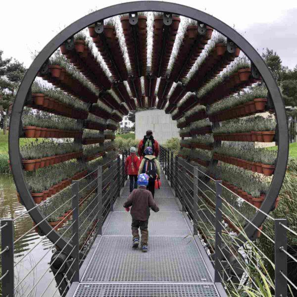 Autostadt Wolfsburg Dufttunnel
