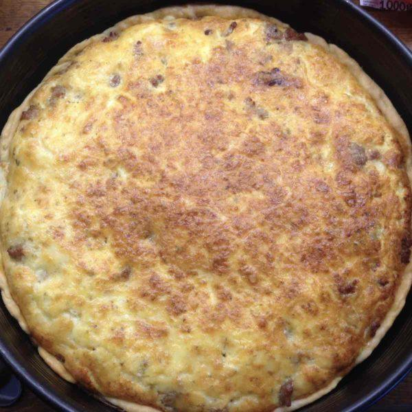 Rezept für Gehacktes-Torte