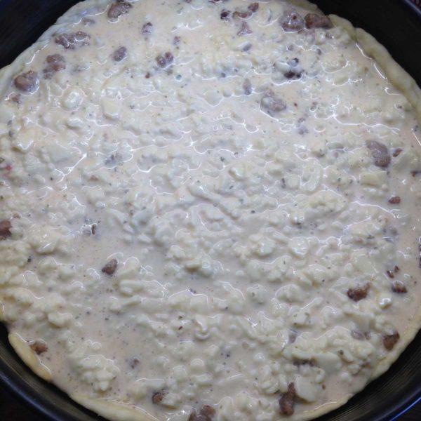 Rezept für Hackfleisch-Torte