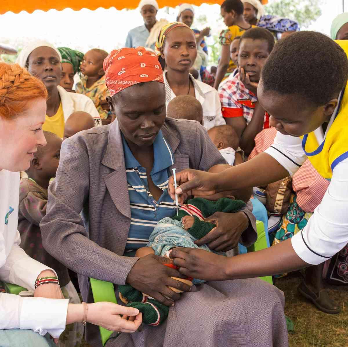 Anzeige – mit Pampers für UNICEF lebensrettende Impfungen zur Verfügung stellen