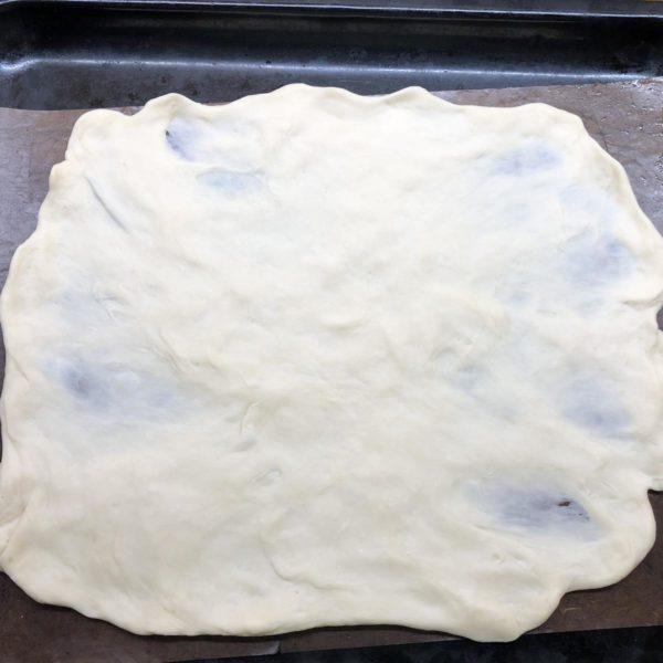 schneller Pizzateig für Pizza-Ring
